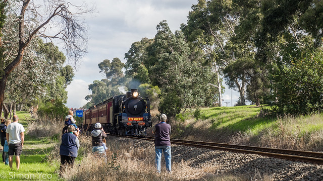 Steam train to Warragul and Traralgon