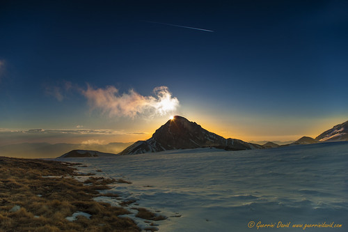 Sunset @ Pizzo Cefalone (Gran Sasso) | by 84billy