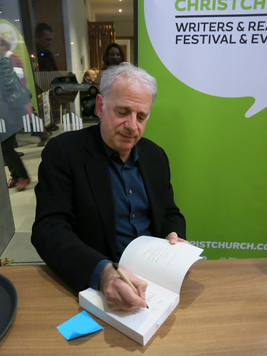 James Gleick signing
