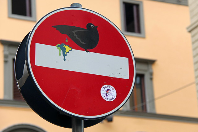 Florence Traffic Sign # 2