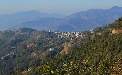 montagnes nepal okhaldhunga préci