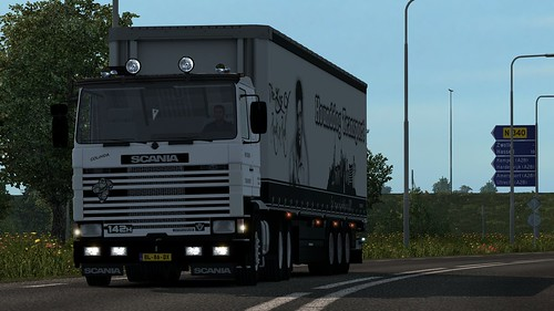 Scania 142 H Hounddog Transport | by robhounddog