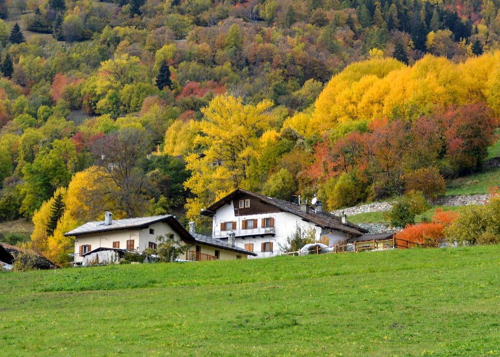 Colori d'autunno in Val d'Aosta
