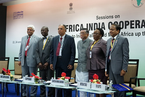 Africa-India Cooperation - Session 2: The Infrastructure Imperative, AM 2017