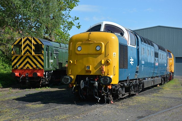 D3022 and 55018 Kidderminster TMD 07/05/2017