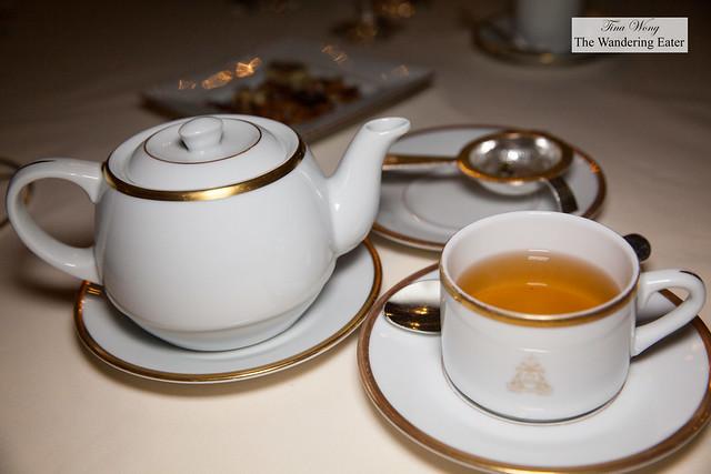 After-dinner Earl Grey tea
