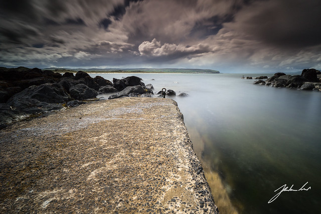 Berne Salmon Fishery. Portstewart, Northern Ireland.