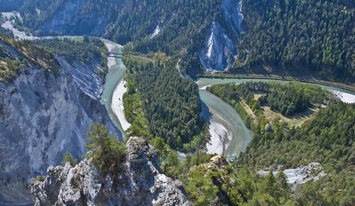 52in2017challenge 1852 swirl rheinschlucht graubünden switzerland suisse schweiz nature landscape view mountain rocks versam conn flims