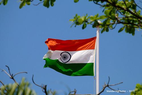 Indian National Flag - Chennai Tamil Nadu India | by WanderingPJB
