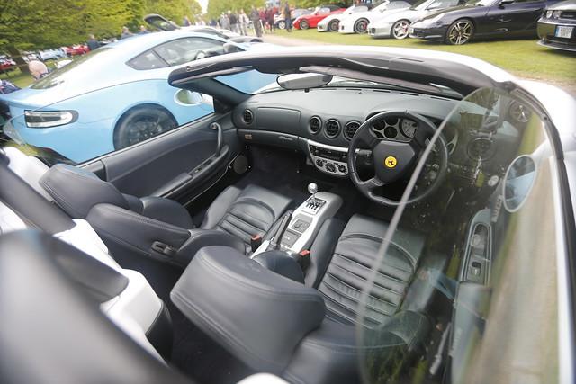 Ferrari F360 Modena Cockpit (Cars in the Park)