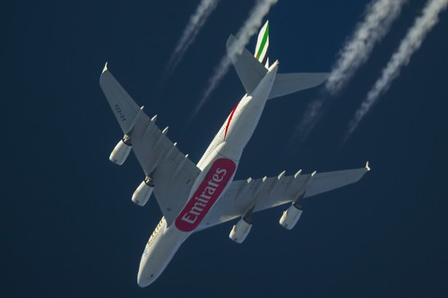 Emirates Airbus A380 A6-EDA | by Mike (Radiostationx)