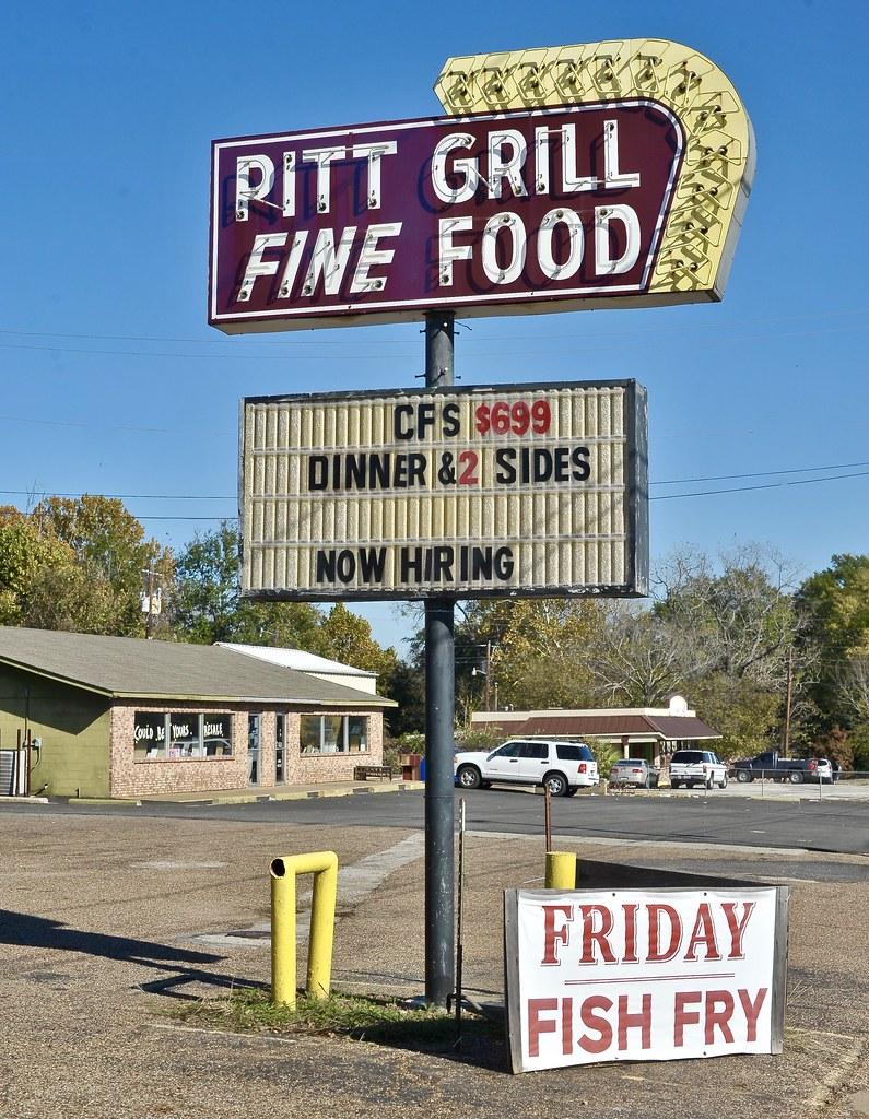 Pitt Grill - Athens,Texas.