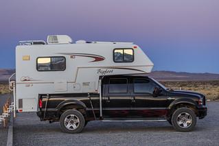 Bigfoot truck camper on someone else's truck
