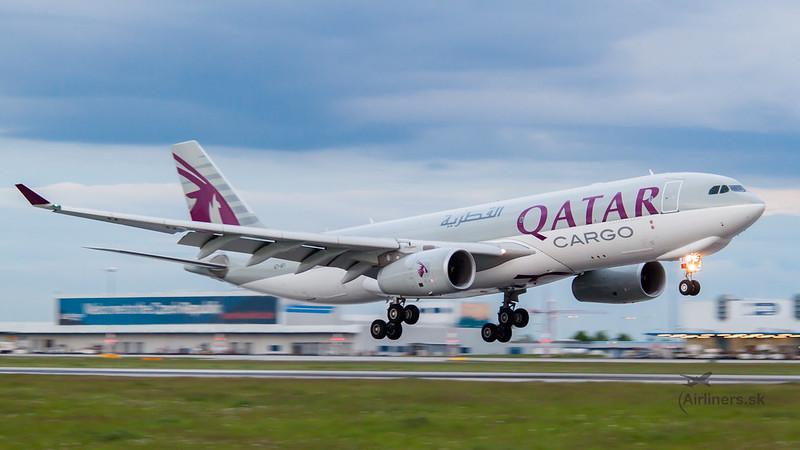 A7-AFI Qatar Airways Cargo Airbus A330-243F