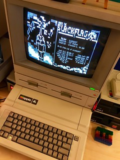 Apple IIe on a telnet BBS w/ ANSI display | by blakespot
