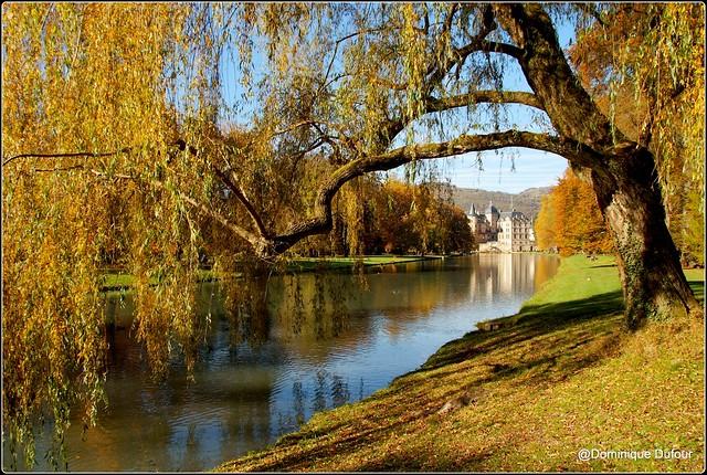 Château de Vizille. Le grand canal