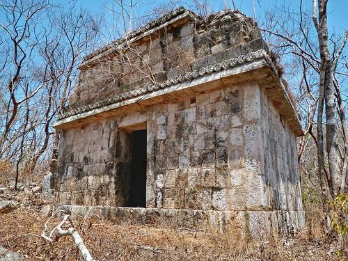 Estructura 4, Grupo Sur. Chundsinab, Campeche