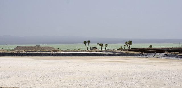 ETHIOPIA AFAR LANDSCAPE AROUND AFRERA LAKE 723m