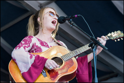Margo Price at Jazz Fest Day 5 on May 5, 2017. Photo by Ryan Hodgson-Rigsbee www.rhrphoto.com