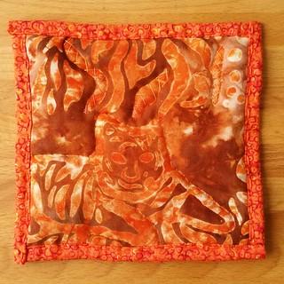 Batik patch for Jenny