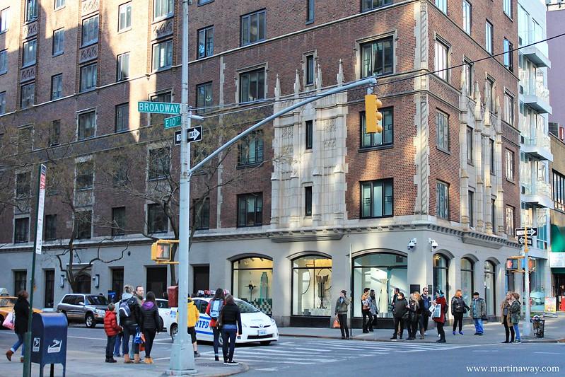 Broadway, curiosità su New York