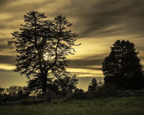sunset churchyard stkentigern