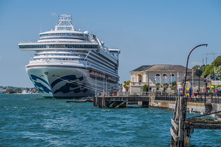 Princess Cruises Caribbean Princess in Cohb Ireland   by Tips For Travellers
