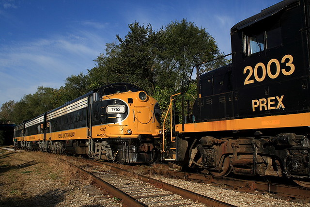 Keokuk Junction Railway PREX 1752 (EMD FP9A) Mapleton, Illinois