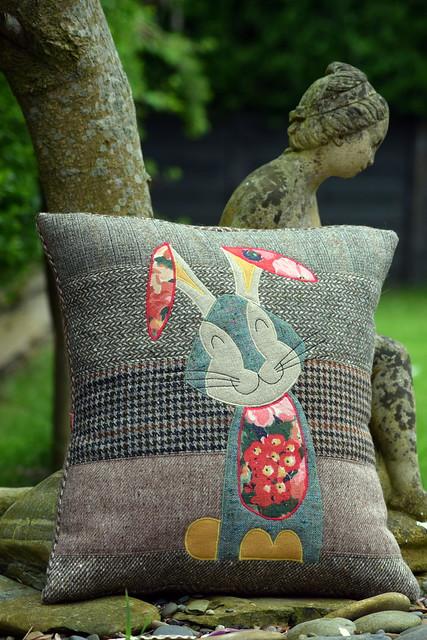 Harriet Hare in Tweed, Wool & Linen