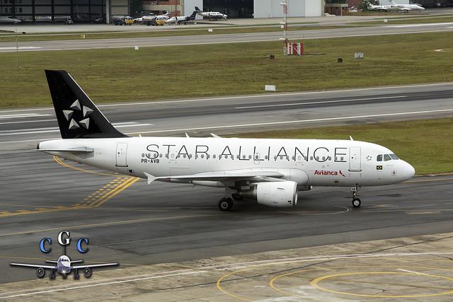 PR-AVB STAR ALLIANCE AVIANCA BRASIL