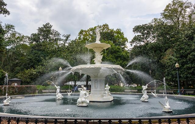 Forsythe Park Fountain II c. 1858 - Savannah, GA