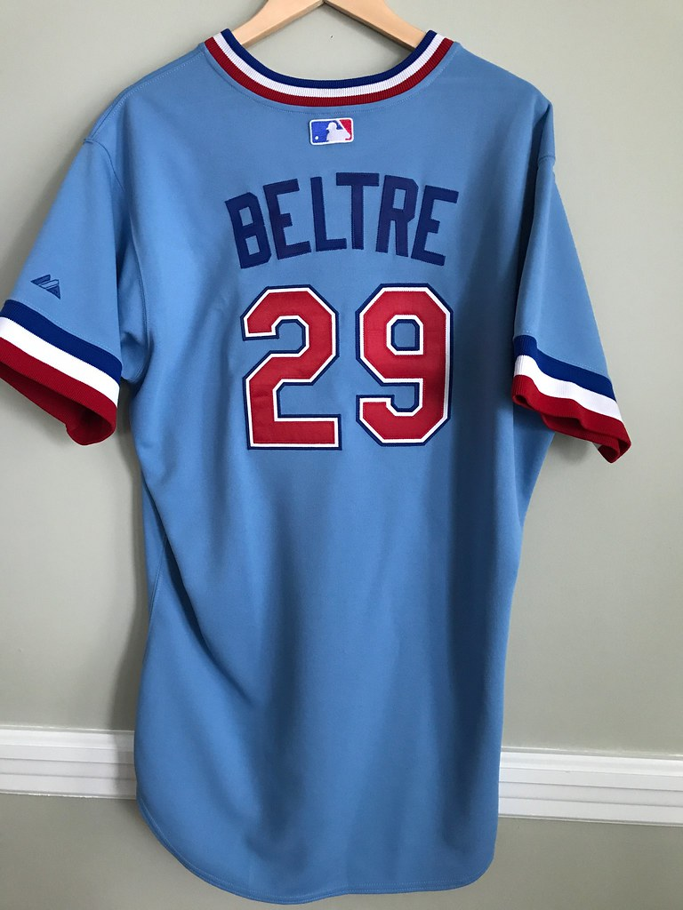 online retailer 3207f 38380 Adrian Beltre Texas Rangers Throwback Jersey Back ...