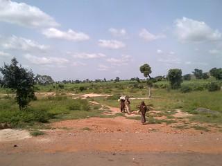 Vaccinators in remote Sokoto, Nigeria