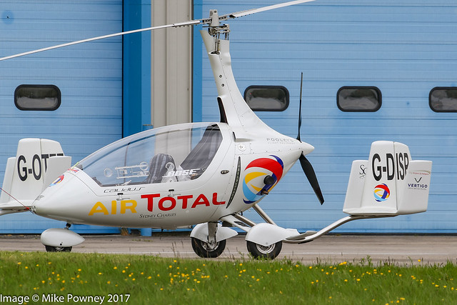 G-DISP - 2016 build Rotorsport UK Calidus, at Halfpenny Green during Radials, Trainers & Transports 2017