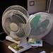 Desk fans various E7