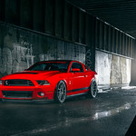 Ford Mustang GT500 Velgen Wheels VMB6 Matte Gunmetal