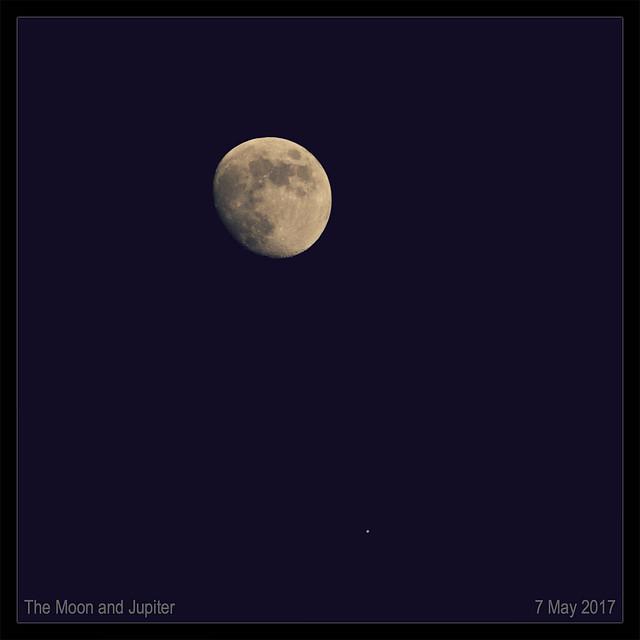 Moon-Jupiter Appulse