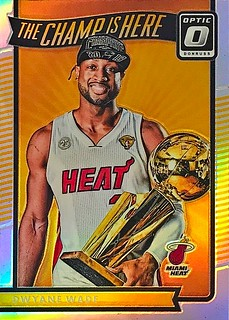 2016-17 Donruss Optic The Champ is Here Holo #5 Dwyane Wade | by SMosley21x