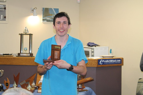 Andrew Coffin, winner of the Summer Series Trophy | by PLSC (Panmure Lagoon Sailing Club)