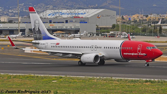 LN-NIH - Norwegian Air Shuttle - Boeing 737-8JP (WL) - PMI/LEPA