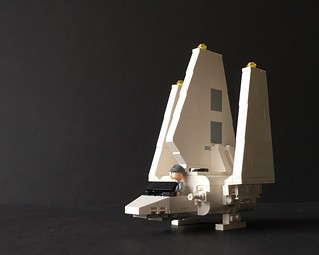 Microfighter Imperial Shuttle   by Miro78