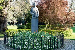 SEAN HEUSTON MONUMENT [PHOENIX PARK IN DUBLIN]-128279