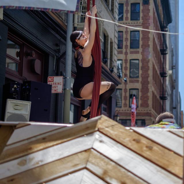 How Weird Street Faire 2017: mollycoddled cyclone
