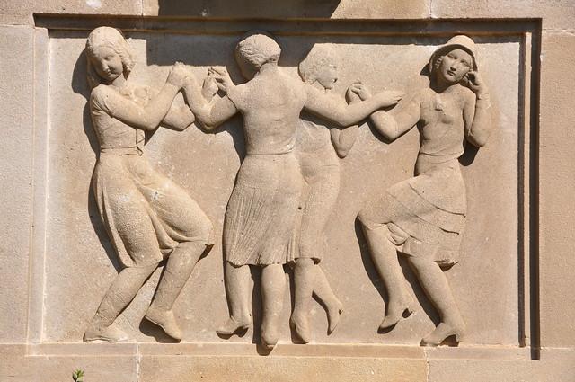 Sant Feliu de Guíxols. Monument to Juli Garreta. 1932. Enric Monjo, sculptor