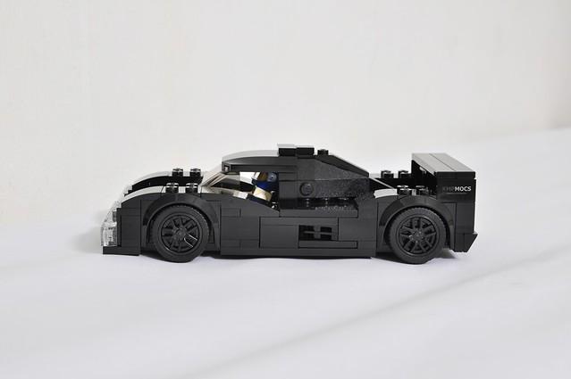 Le Mans Prototype Race Car MOC