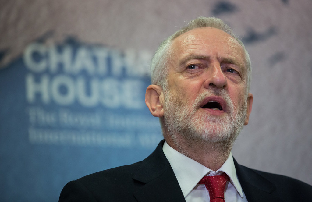 Rt Hon Jeremy Corbyn, Leader of the Labour Party, UK   Flickr