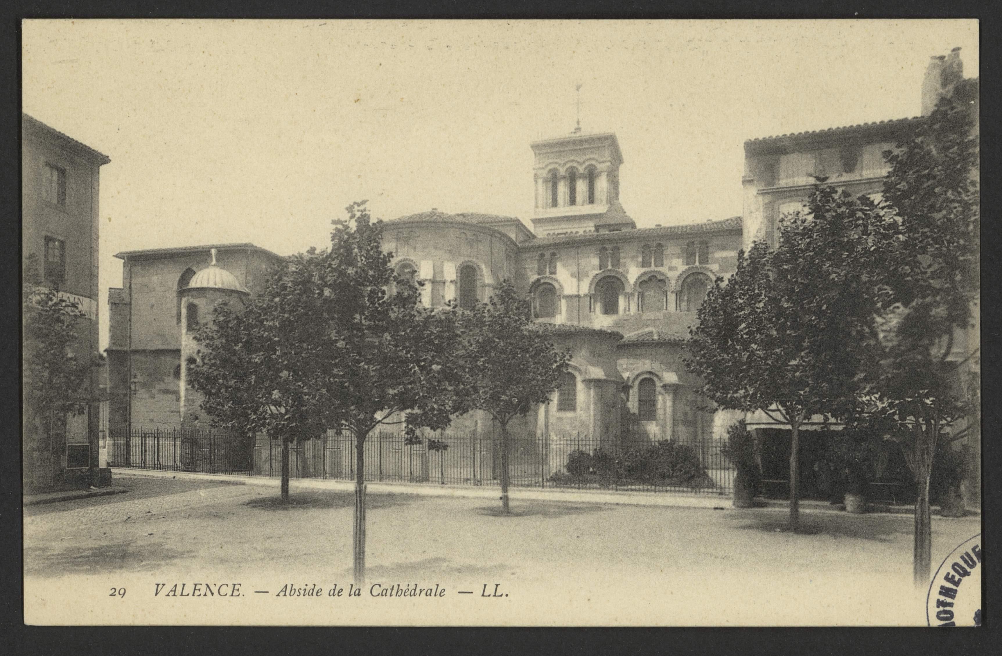 Valence - Abside de la Cathédrale
