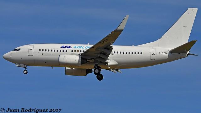 F-GZTP - ASL Airlines France  - Boeing 737-71B (W) - PMI/LEPA