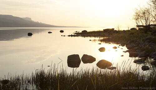 jonasdellowphotography nikond200 garrison lough melvin sunset rocks water grass sky landscape beautiful nature natural ireland