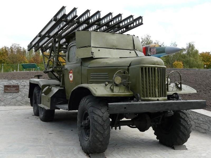 BM-13 on ZiL-157 8